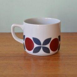 Vintage tea cup coffee cup Schonwald Mid century