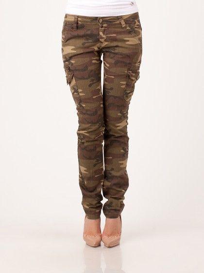 Прямые джинсы Acquaverde цвета хаки