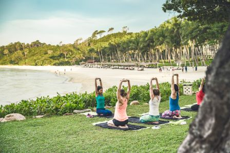 Find bliss and balance with wellness activities. Surrounded by beautiful stretches of beach and jungles, there's no better place to relax, rejuvenate, and restore your body and mind than on a holiday to Bintan Island.