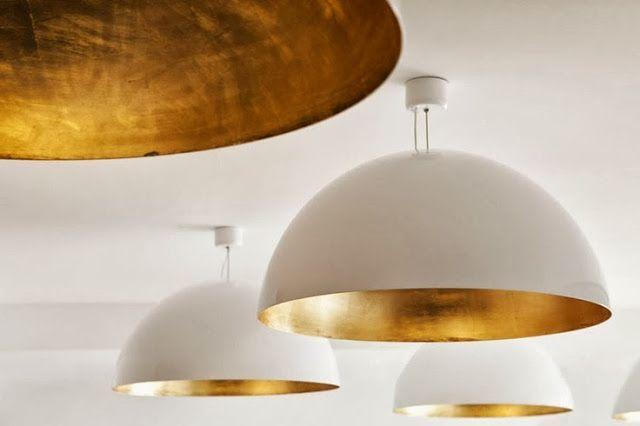 gold inside lights - Google Search