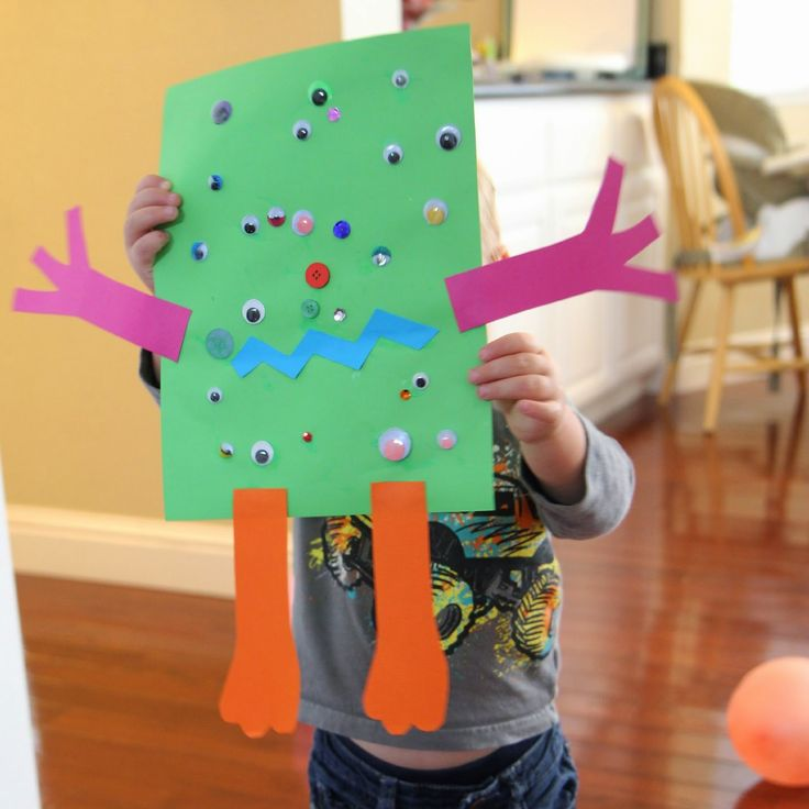 Toddler Approved!: Easy Monster Craft for Toddlers