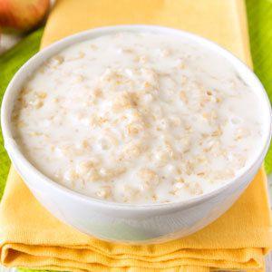 Oatmeal with Milk and Honey  Sleepy Foods