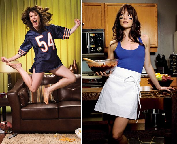 Katie Aselton The League Interview - Fantasy Football Draft Tips 2012 - Esquire