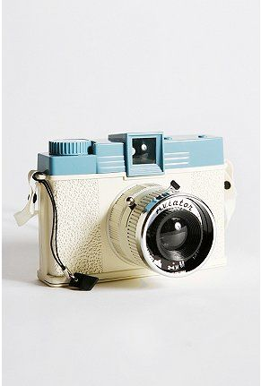 Oh, this is niiiiice. New Urban Outfitters edition of the classic Diana camera. $65
