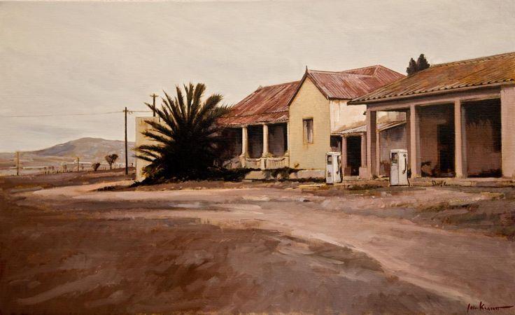 Albertinia area by artist John Kramer - brother of David Kramer.
