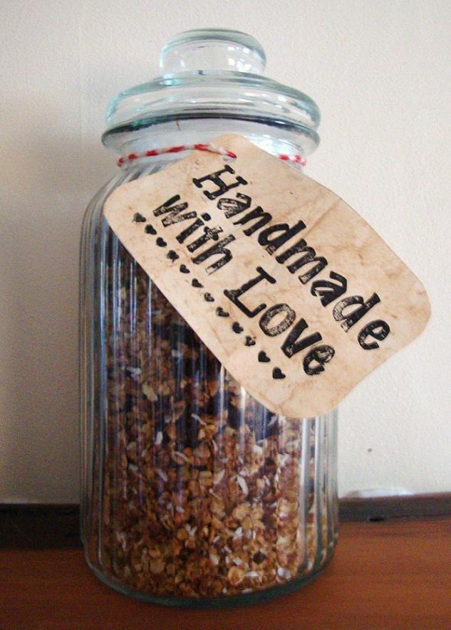 The Cottage Diaries: DIY Christmas Gift: Homemade Muesli