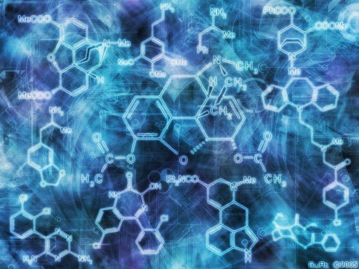 Organic Chemistry Wallpaper: Wallpaper - Molecules