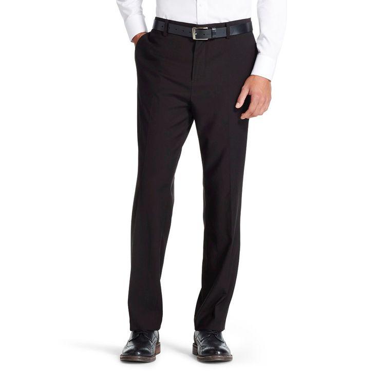 Men's Slim Fit Suit Pants Black - Mossimo 30X30