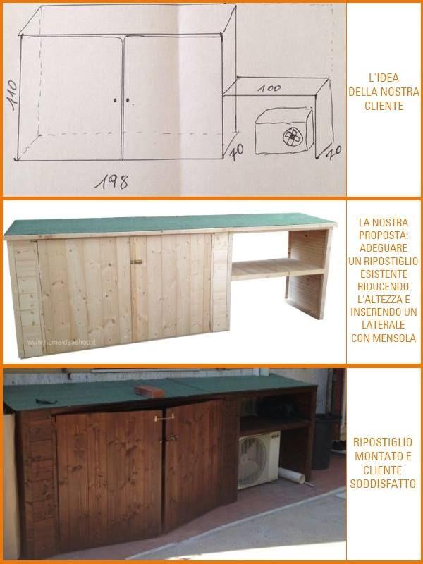 Ripostiglio creato su misura per un nostro cliente  - Home Idea Italia