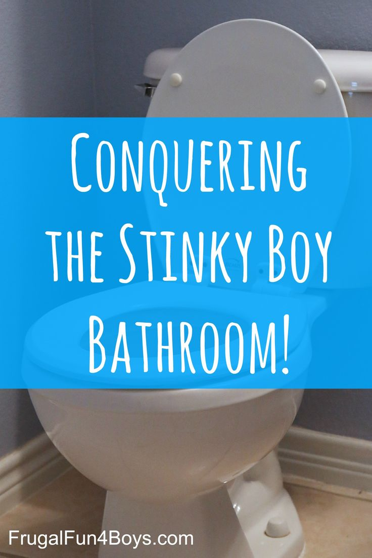 Getting Rid Of Boy Bathroom Stink