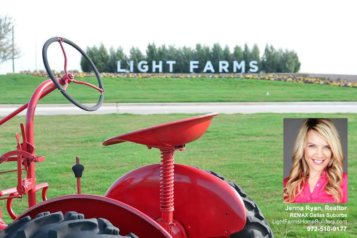 Light Farms in Celina, TX has bucolic appeal, close to Hwy 380 and the North Dallas Tollway. #newhomebuilders #celinatx #lightfarms #lightfarmscelina #dreeshomes #highlandhomes #shaddockhomes #americanlegendhomes