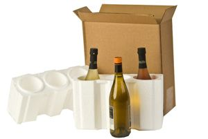 U-Haul: Moving supplies: Wine Shipping Kit Three Bottles