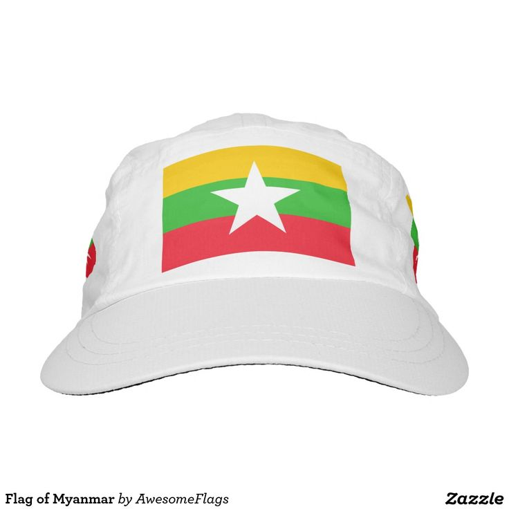 Flag of Myanmar Hat