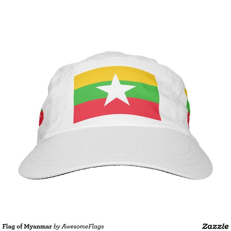 Flag of Myanmar Hat
