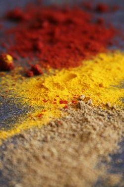 Gingembre, curcuma, paprika (Épices à tajine) - Tajine spices