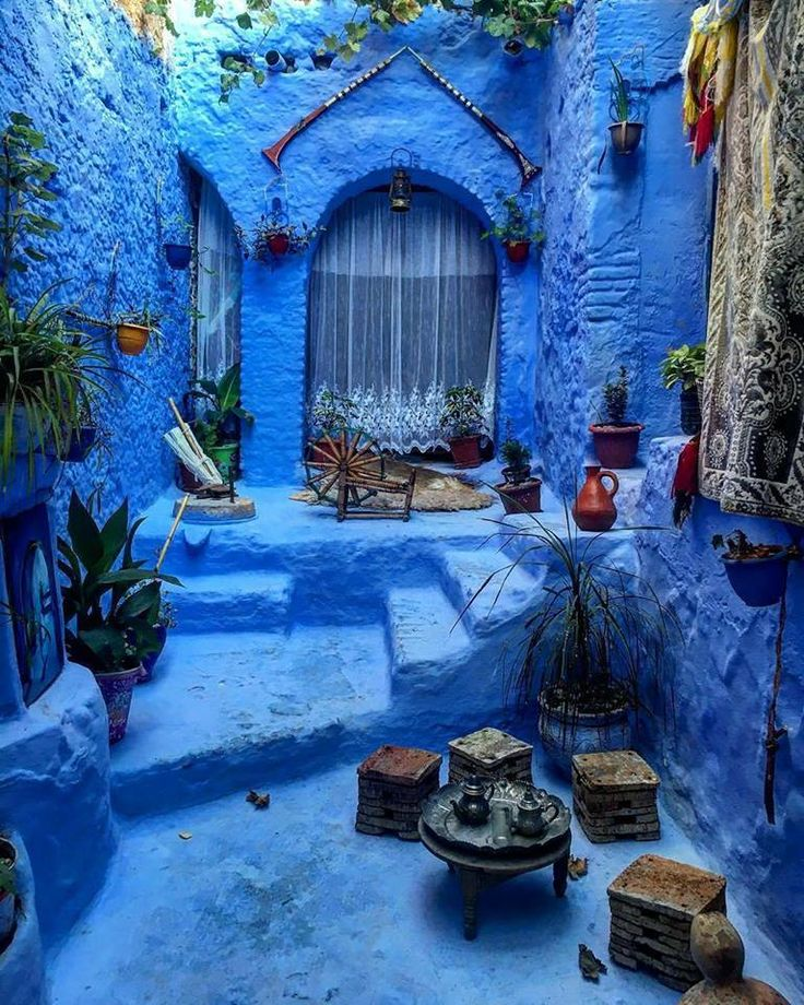 Stunning View of well decorated #Bluecity Chefchaouen - #Morocco  ❤️  #Beautiful #Holidays #Traveling #Moroccotravel #Maroc #Medina #Visitmorocco #Africa #Explorer #Travelingram #Architecture #Adventures #ViriksonMoroccoHolidays #CheapMoroccoHolidays  Virikson Morocco Holidays provide a great opportunity to enjoy the travel photography of morocco beautiful places, get your cheap morocco holidays and enjoy the most memorable trip of your life with us!
