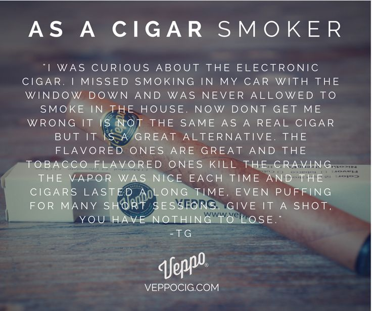 Real truths from a #cigar smoker on electronic cigars.  #ecigars #vaping  http://www.veppocig.com/veppo-electronic-cigar/