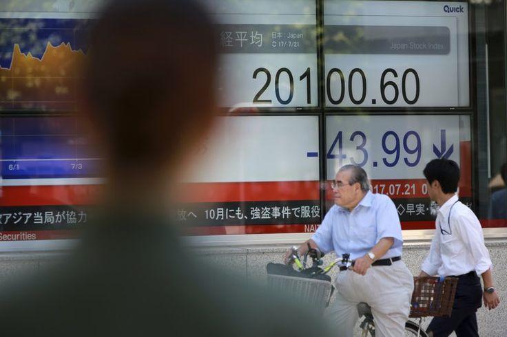 Asian shares meander as ECB, BOJ hold monetary policy steady