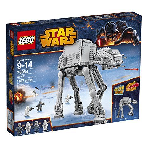 Who can stop the Empire's intimidating AT-AT - All Terrain Armored Transport - walker? Seat the AT-AT Driver and a Snowtrooper in the cockpit of this mighty war machine and move the head to aim the sp...