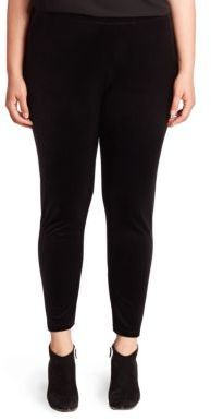 Eileen Fisher Plus Size Velvet Ankle Leggings -- Learn more by visiting the image link.