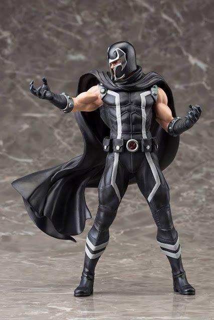 Kotobukiya Marvel Now! Magneto ARTFX+ Statue is Magneto in totally different colors
