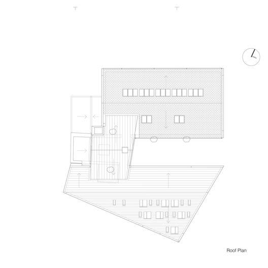 The Granary,Roof Floor Plan