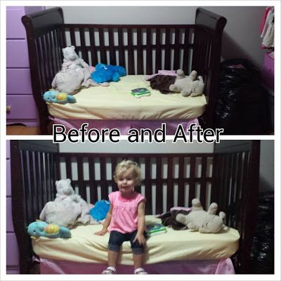 Transition from Crib to Toddler Bed. Great ideas to get ...