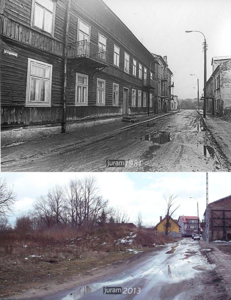 ul. Kąpielowa była przecznicą ul. Przemysłowej z kilkoma kamienicami i jednym z niewielu w Lublinie piętrowym budynkiem drewnianym. źródło; Ju-ram51
