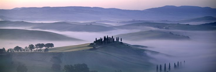 Val D'Orcia, Tuscany, Italy by Charlie Waite