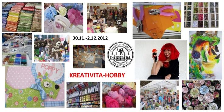 KREATIVITA-HOBBY  30.11.-2.12.2012  Praha Holešovice