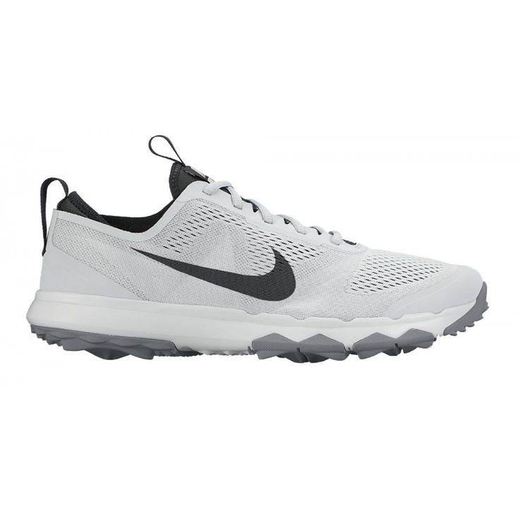 Nike FI Bermuda 003 Platinum/White Men's Golf Shoe from @golfskipin