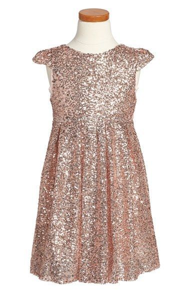 ilovegorgeous 'Moon Festival' Sequin Dress (Toddler Girls & Little Girls) available at #Nordstrom, Flower girl dress idea