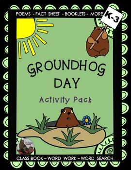 This package contains two original Groundhog Day poems and a Fact Sheet with accompanying tasks including word work, booklets, cloze exercises, class book and word search. A number of options are provided to accommodate for different levels of ability amongst your