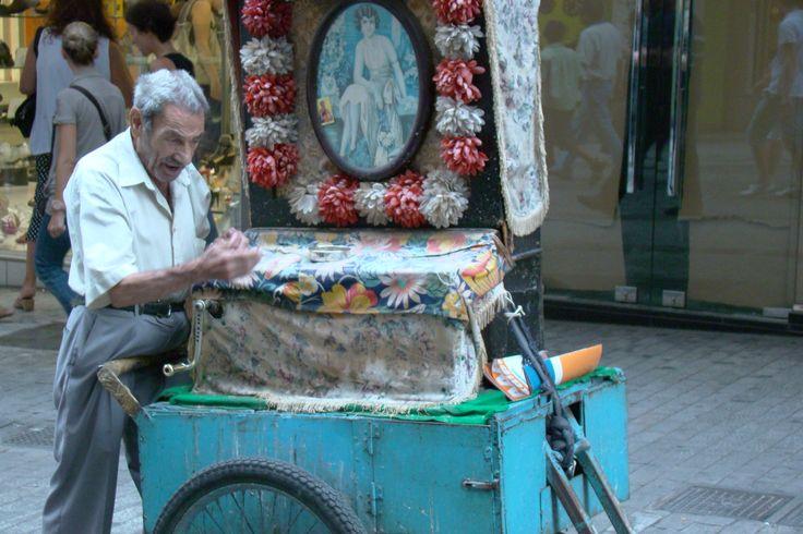 street music player (laterna)