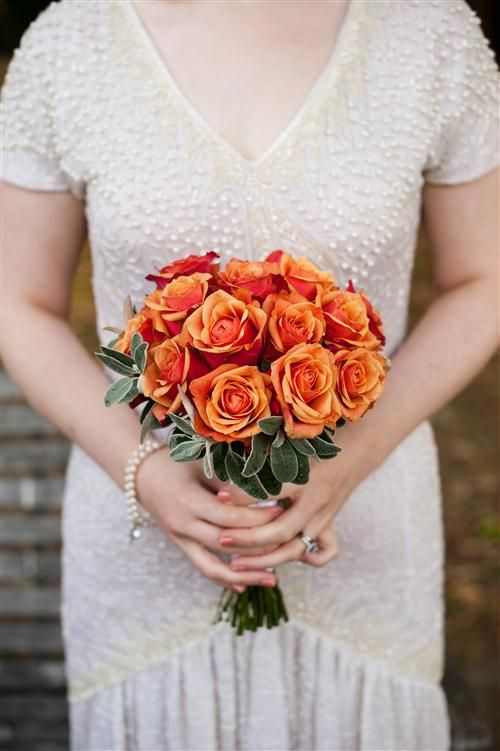 An Autumnal Wedding With A Vintage Wedding Dress Rose