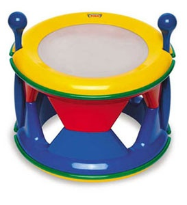 Double sided drum that can be separated into two separate drums. £22.99