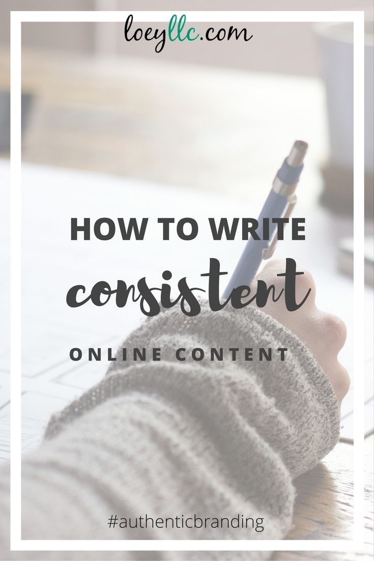 Is your online content consistent? NO? Then your audience has no idea what you're about. And that means you won't be converting them to clients anytime soon. Learn how to keep your social media and blogging super consistent.