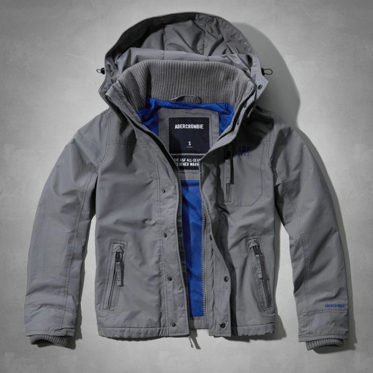 Cheap Abercrombie Fitch Clothing 09 New Abercrombie Mens Hoodies Best Abercrombie Fitch Clothing: Abercrombie & Fitch Mens Gray All-Season Weather Warrior