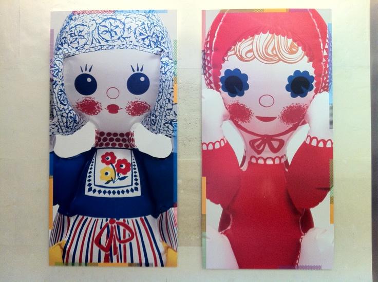 Paris, museum of decorative arts - 1960's czech inflatable toys!
