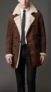 Abrigo Heritage en piel de oveja