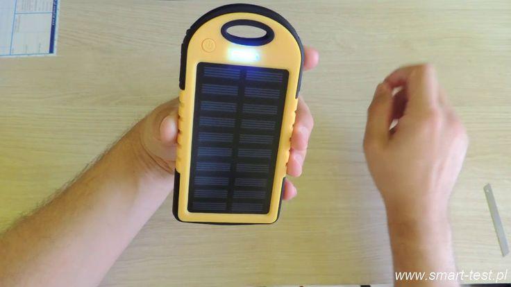 HYKKER Power Bank Solar 4000 - recenzja ciekawego powerbanku z Biedronki