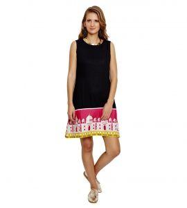 Jalebe trendy Printed daress for women INDTJBL015