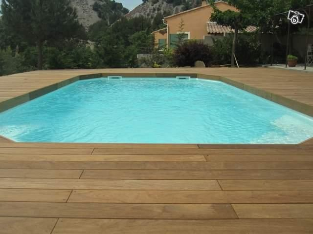 57 best Piscines en bois OUTDOOR images on Pinterest Piscine - piscine hors sol beton aspect bois