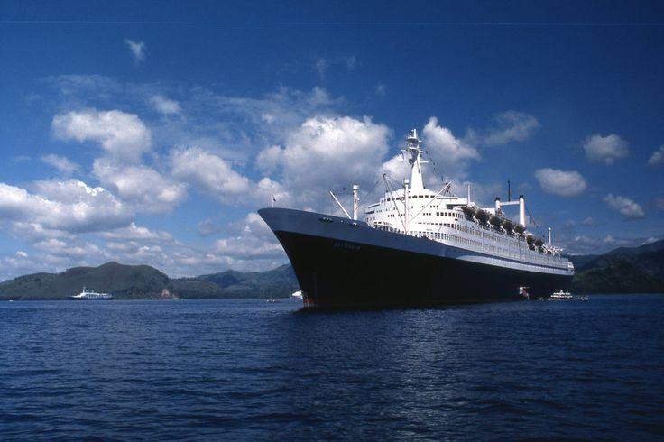 SS Rotterdam Padang Bay