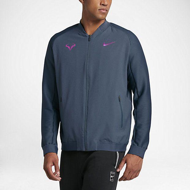 NikeCourt Rafael Nadal Premier Men's Tennis Jacket, Nike, Tennis Fashion Men, trendy Tennis Outfits for him, Tennismode, sportliche Mode fürs Tennisspielen.