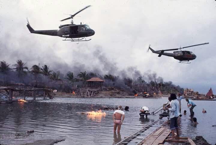 Apocalypse Now (1979). Francis Ford Coppola Cinematography: Vittorio Storaro #Oscars #Platinum #SableFilms