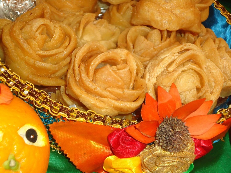 GOLAP (rose) PITHA   Sweets