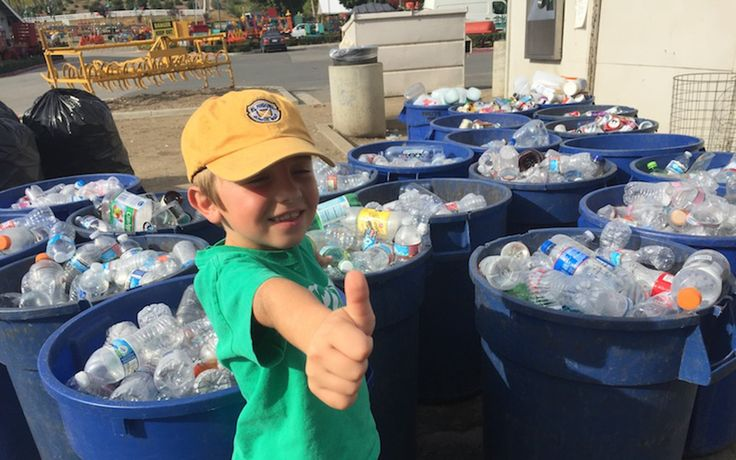 After taking a trip to the local recycling center in 2012, 3-year-old Ryan knew that recycling would be his future.