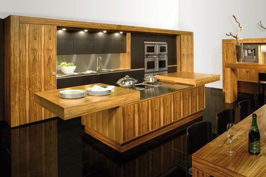 Une cuisine à effet coulissant (2)