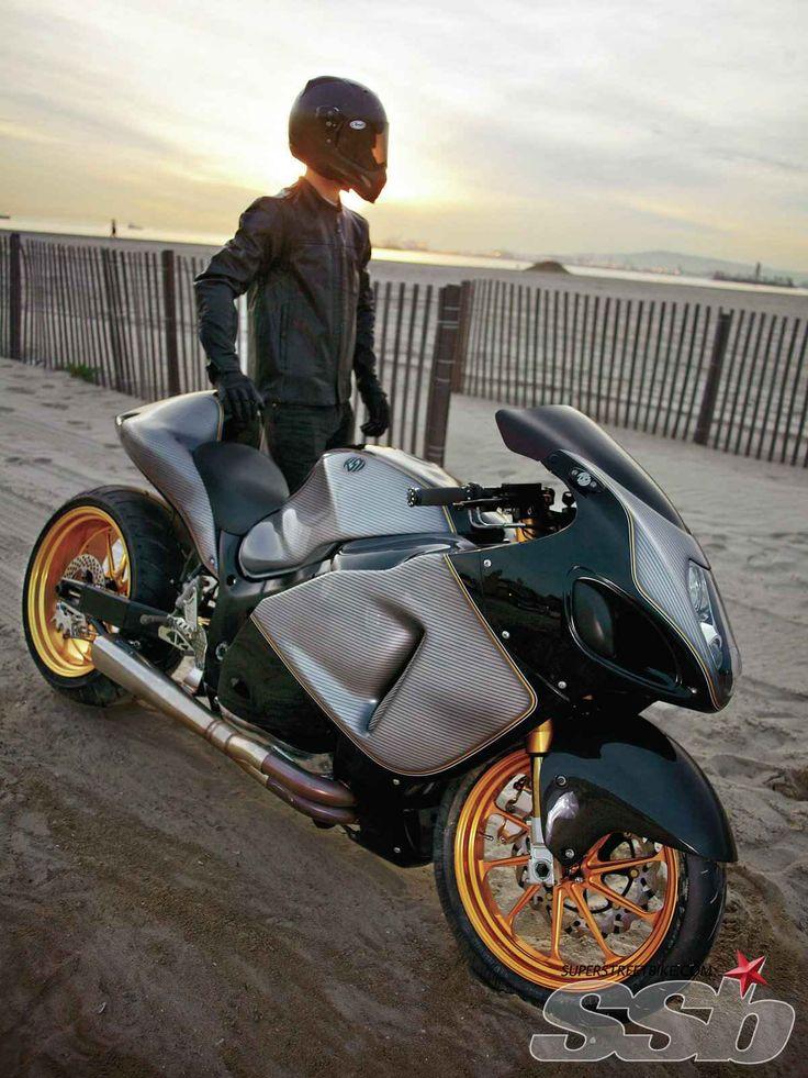 Roland Sands Design 2005 Suzuki Hayabusa   Return To Speed
